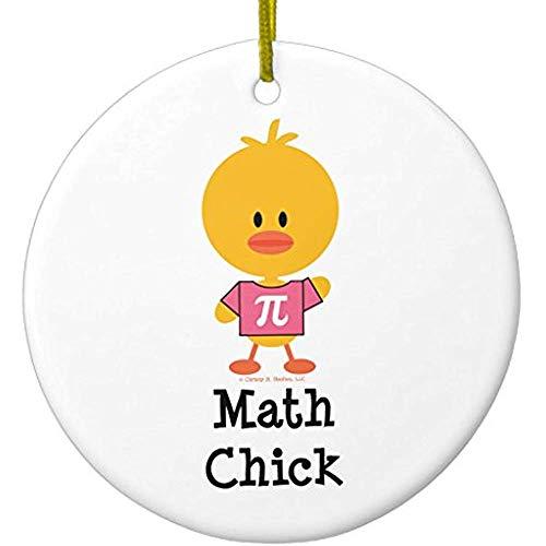 Cheyan Math Chick Ornament Circle