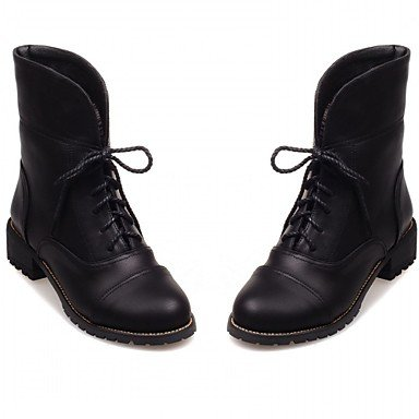 Wedding amp;Amp; Winter EU34 Novelty amp;Amp; Dress Evening Party Fall Casual Career Comfort Kids Little Spring Office Leatherette Platform 5 Boots Patent Leather RTRY 5 UK1 Women'S US2 OPpwff