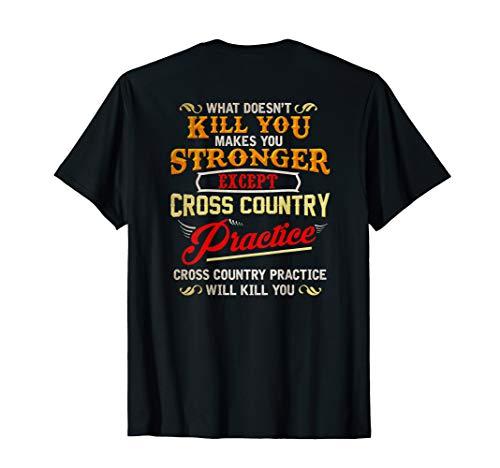 (Funny Cross Country Runner T-shirt   Gift for Running)