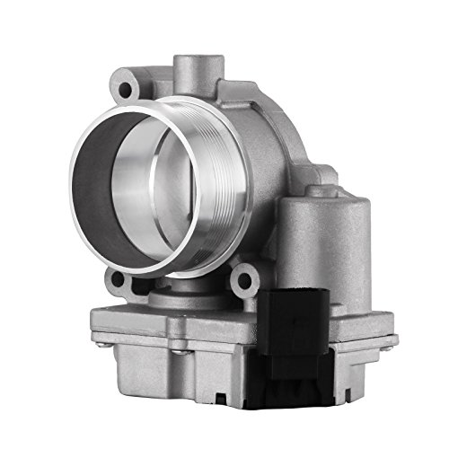 Mophorn Throttle Body Electrical Mechanical Fuel Injection Throttle Body for Audi A4 A5 A6 A8 Q5 Q7 Volkswagen Phaeton Touareg 2.7 3.0 with Throttle Actuator (for 2.7L 3.0L Audi/VW Touareg)