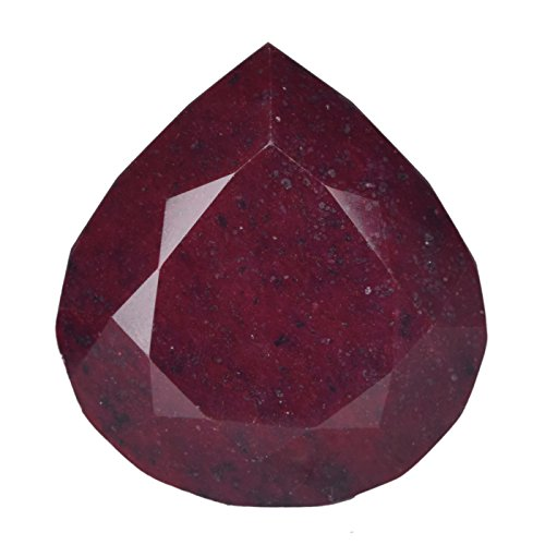 Extraordinary Egl Certified 1589.00 Ct Natural African Excellent Pear Blood Red Ruby Loose Gem B-4479 ()
