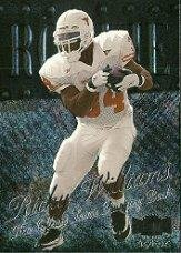1999 Metal Universe Football Rookie Card #209 Ricky Williams Near Mint/Mint (Williams Rookie Card)