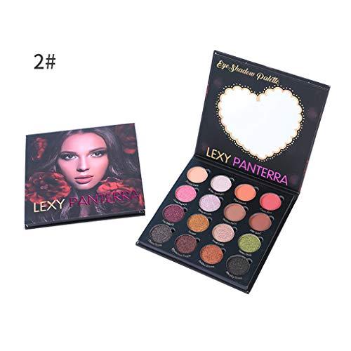 Lexypanterra Pearlescent 16 Color Eyeshadow Waterproof Matte Eyeshadow Smoked, Powder, 2019 Fashion, Sexy, Beauty, Gift, Eyeshadow Pen