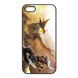 iPhone 5 5s Cell Phone Case Black Garrosh Hellscream 002 IX7620542