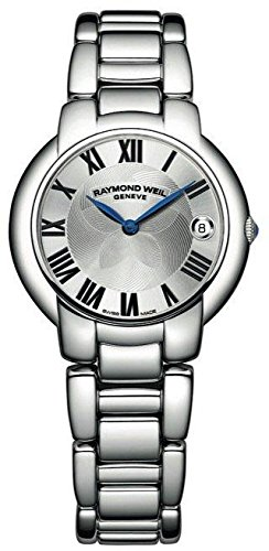 Raymond Weil Jasmine Silver Dial SS Quartz Ladies Watch 5235-ST-01659