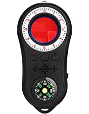 Facamword Hidden Camera Detector - Spy Finder - Bug Detector - Anti Spy Detector with Compass + Flash Light + Torch