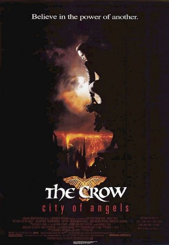 THE CROW: CITY OF ANGELS (1996) Original Movie Poster 27x40 - Single-Sided - Vincent Perez - Mia Kirshner - Iggy Pop - Thomas Jane