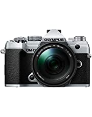 Olympus OM-D E-M5 Mark III Silver Body with M.Zuiko Digital ED 14-150mm F4.0-5.6 II Black Lens Kit