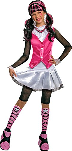 [Deluxe Draculaura Costume - Small] (Draculaura Kids Costumes)