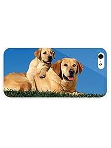 3d Full Wrap Case for iPhone 5/5s Animal Dog Family hjbrhga1544