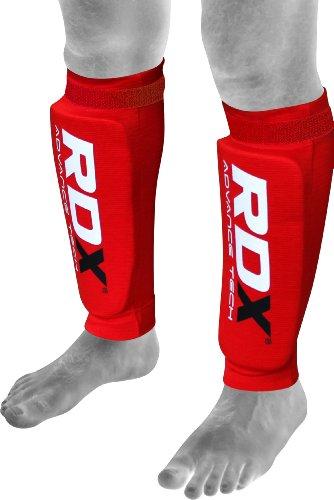 RDX MMA Shin Foam Pad Support Boxing Leg Guards Foot Protective Gear Kickboxing