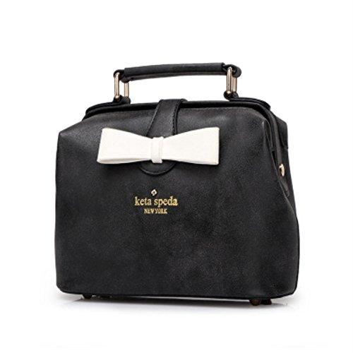 V SHOW Black Men's Shoulder Bag Messenger Bag - 2
