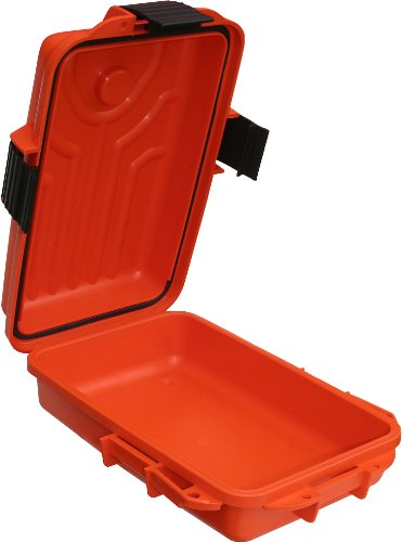 MTM Survivor Dry Box with O-Ring Seal (Orange, (Waterproof Storage Boxes)