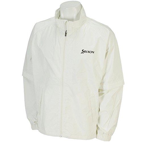 DUNLOP(ダンロップ) SRIXON レインジャケット メンズ SMR6001J ホワイト M