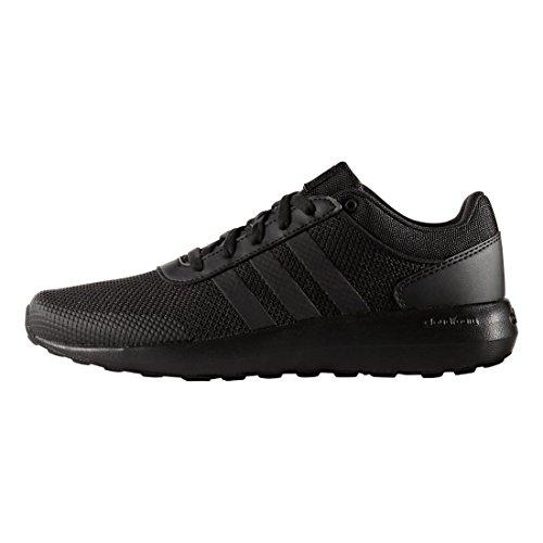 adidas+NEO+Men%27s+Cloudfoam+Race+Running+Shoe%2C+Black%2FBlack%2FBlack%2C+9.5+M+US