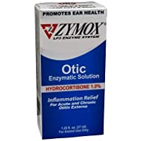 Pet King Brands Zymox Otic Pet Ear Treatment with Hydrocortisone