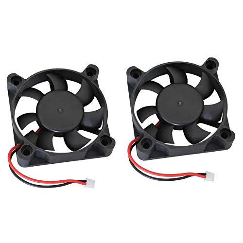 - 2 Pack ShareGoo 5010SH 5300RPM 5V 50mm50mm Cooling Fan for Hobbywing Ezrun 150A SL PRO V2 Brushless ESC