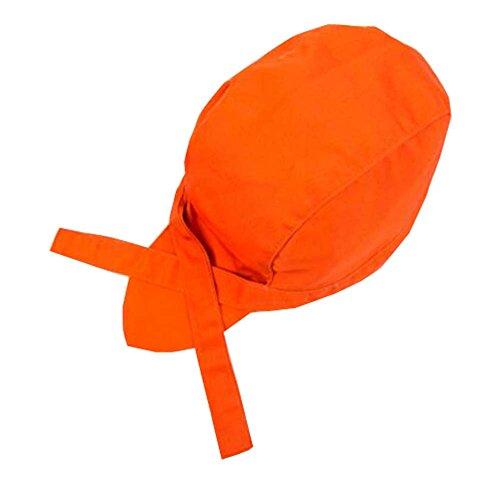 Casquillo del sombrero de los cocineros del estilo japonés Casquillo del casquillo de la cinta del abastecimiento de la...