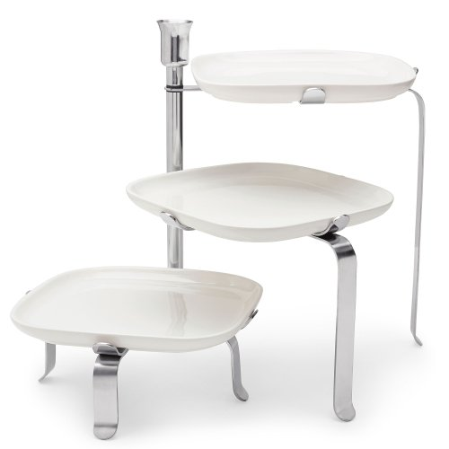 Michael Graves Design - MICHAEL GRAVES Design 3-Tier Plate Stand