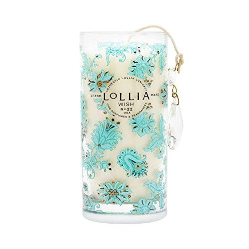 Lollia Wish No. 22 Sugared Pastille Petite Luminary - Lollia 22 No Wish Sugared