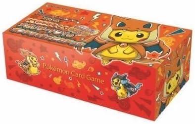 Pokemon card game XY?€Break Pikachu wearing a poncho Special card BOX Mega Charizard Y Pokemon canter Japan Import by Pokemon Center: Amazon.es: Juguetes y juegos