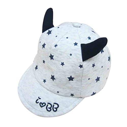 Sombrero De Algodón Para Bebés Gorra De Béisbol Para Niños Con Visera  Exterior Cómoda Y Transpirable 75850da5779