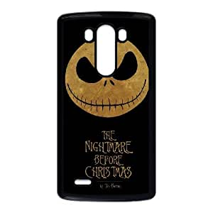 The Nightmare Before Christmas LG G3 Cell Phone Case Black GY06663K