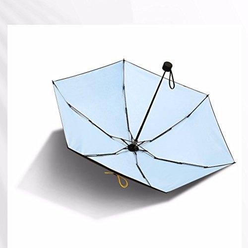 Schirm Uv Sonnencreme Schwarze Klebstoff Transparente Null Weibliche Sonnenschirm Schirm Tuch Schirm Sonnenschirm Mit Super Zähigkeit Matte Rotierenden Knopf Ultraleicht Schirm Tasche Die Hälfte Ab Pink 2gTTzy