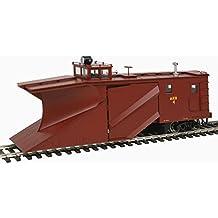 Russell Snowplow - Ready to Run -- Alaska Railroad #4 (Boxcar Red)