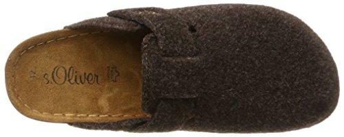 s.Oliver Herren 17101 Pantoffeln Braun (Mocca)