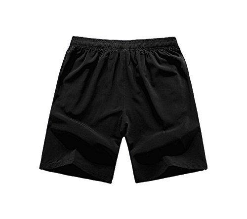 Choisir Entraînement Fitness À Hommes Zippée Jogging Noir Léger Couleur Short Respirant De Clouspo Gym Running Course Poche 4 Sport qOxRfnCTPw