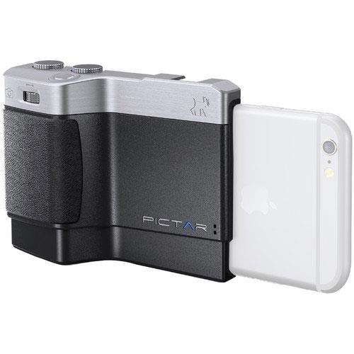 Pictar Plus Camera Grip for iPhone 6 Plus, 6S Plus, SE, 7 Plus, 8 Plus, iPhone X, Lens Zoom – DSLR your iPhones Camera!