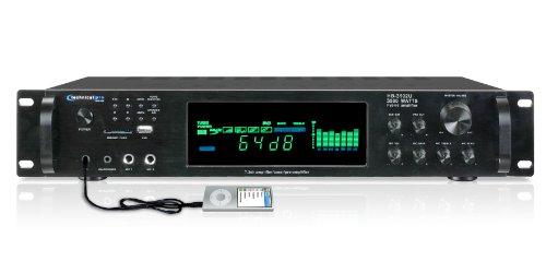 TECHNICAL PRO HB3502U Amplifier Equipment, Black
