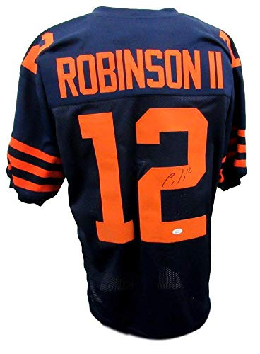 Allen Robinson II Signed/Autographed Bears Blue Throwback Jersey JSA 142814