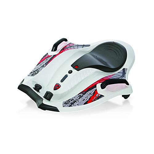 Rollplay 12 Volt Nighthawk Ride On Toy, Battery-Powered Kid's Ride On, White (Best Ride On Toys For 8 Year Olds)