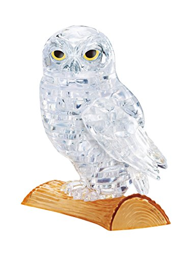 Beverly Crystal - Beverly Crystal 3D Jigsaw Puzzle - Clear Owl (42 Piece)