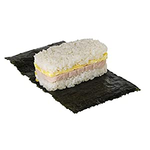 Non Stick Spam Musubi Maker by gabo, Press Mold, Certifed Safety, None Toxic, BPA Free(White)