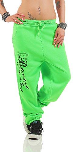 Boxusa - Pantalón deportivo - para mujer Verde