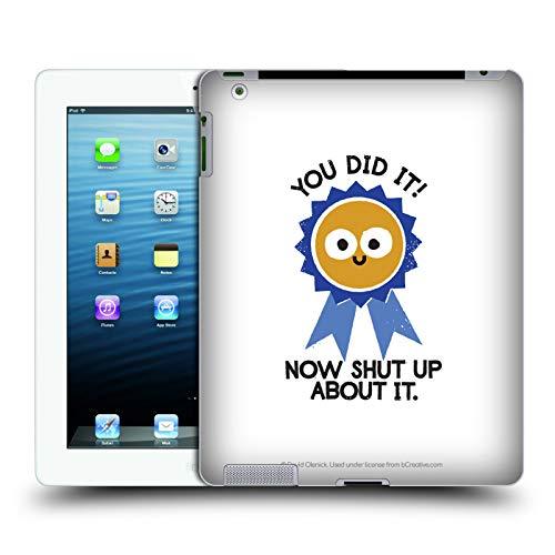 - Official David Olenick Boast Likely to Suceed Medal Objects Hard Back Case iPad 3 / iPad 4