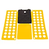 Kids Clothes Tshirt Folder, Super Fast Laundry Folder Organizer, Top Flip Folding Board