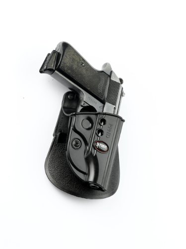 Walther Ppk 380 - Fobus Tactical PPND Standard Right Hand Conceal Carry Polymer Paddle Holster For Walther PP/PPK/PPKS/FEG 380 - Black