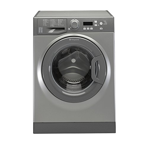 Hotpoint Experience Eco WMBF944G Freestanding 9kg Graphite Washing Machine with 1400rpm maximum spin speed, A+++ Energy Rating and B Spin Class
