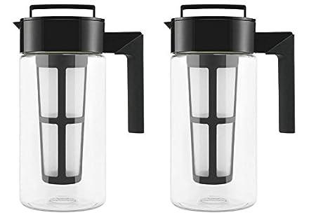 Takeya Cold Brew Iced Coffee Maker, 1-Quart, Black 10310