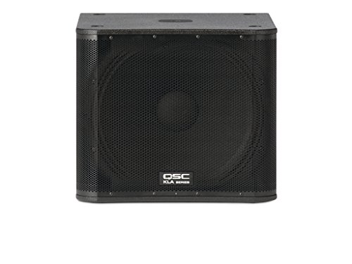 "QSC KLA181 18"" 1000-Watt Active Line Array System Subwoofer, Black by QSC"