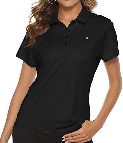 TBMPOY Women's Golf Polo T Shirts Lightweight...