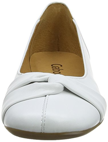 best wholesale online Gabor Women's Frost Ballet Flats White (White Leather) best deals exclusive c6MmMfXIlD