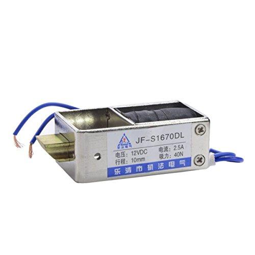 YXQ DC 12V 40N Electromagnet Drive Lock Solenoid Security System