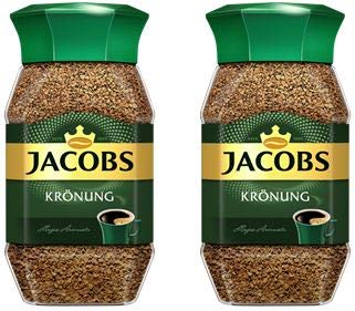 Jacobs Instant Coffee 100 Gram / 3.52 Ounce (Pack of 2) by Jacobs Douwe Egberts