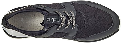 Zapatillas 100 Mujer Negro Para Bugatti J94016n6 schwarz AOx8vvq