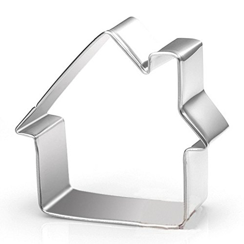 Small Home Sugar Biscuit Cookie Cutter - Stianless Steel (House)